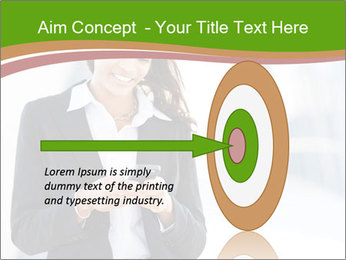 Black businesswoman PowerPoint Template - Slide 83