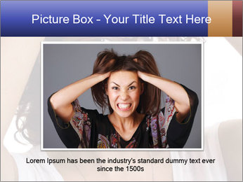 Troubled woman PowerPoint Templates - Slide 16
