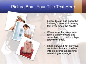 Troubled woman PowerPoint Templates - Slide 17