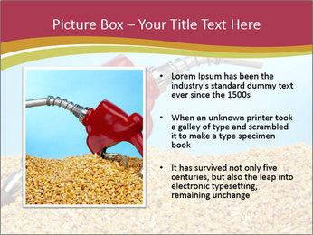 Gas pump PowerPoint Template - Slide 13