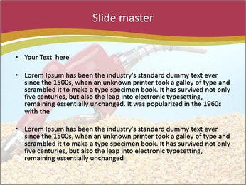 Gas pump PowerPoint Template - Slide 2