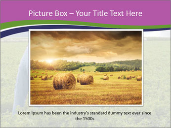 Farmer cultivating PowerPoint Template - Slide 15