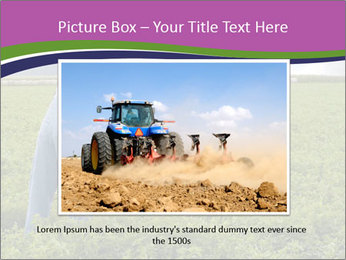 Farmer cultivating PowerPoint Template - Slide 16