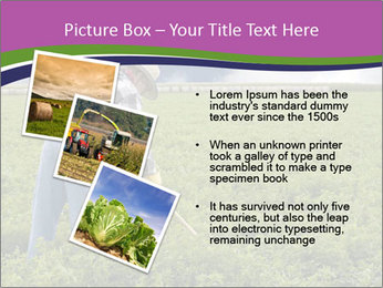 Farmer cultivating PowerPoint Template - Slide 17