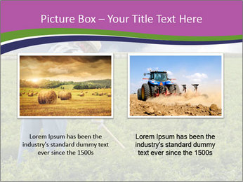 Farmer cultivating PowerPoint Template - Slide 18