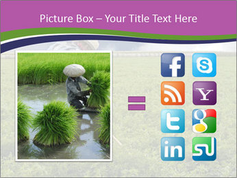 Farmer cultivating PowerPoint Template - Slide 21