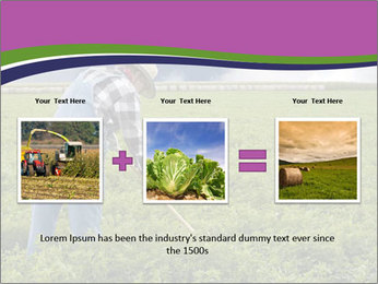 Farmer cultivating PowerPoint Template - Slide 22