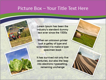 Farmer cultivating PowerPoint Template - Slide 24