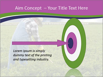 Farmer cultivating PowerPoint Template - Slide 83