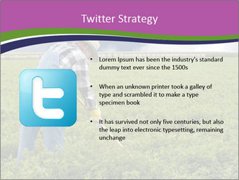 Farmer cultivating PowerPoint Template - Slide 9