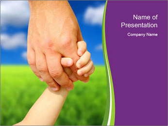 Family Protection PowerPoint Template - Slide 1