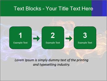 Fire PowerPoint Template - Slide 71