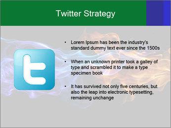 Fire PowerPoint Template - Slide 9