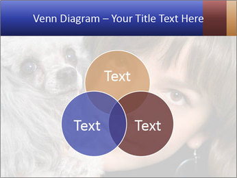 Grey poodle PowerPoint Template - Slide 33
