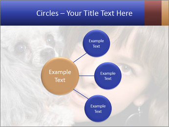 Grey poodle PowerPoint Template - Slide 79