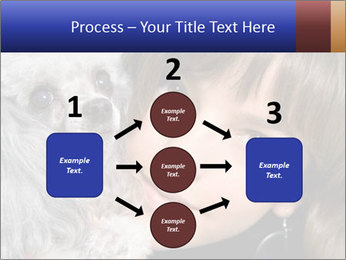 Grey poodle PowerPoint Template - Slide 92