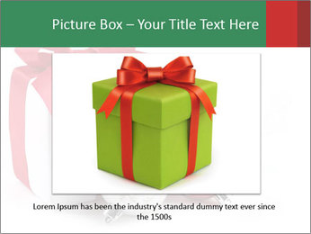 Christmas Gift PowerPoint Template - Slide 15