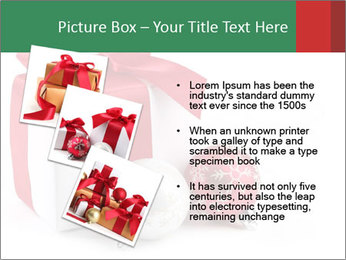 Christmas Gift PowerPoint Template - Slide 17