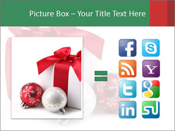 Christmas Gift PowerPoint Template - Slide 21