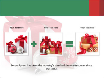 Christmas Gift PowerPoint Template - Slide 22