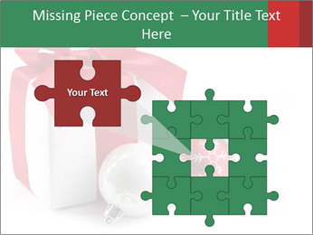 Christmas Gift PowerPoint Template - Slide 45