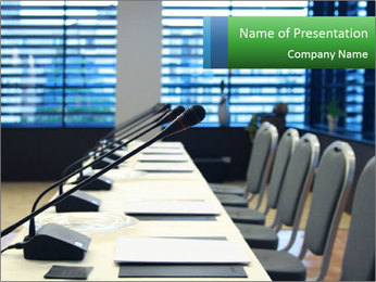 Conference room PowerPoint Template