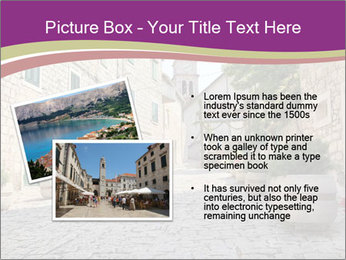 Street in the downtown PowerPoint Template - Slide 20
