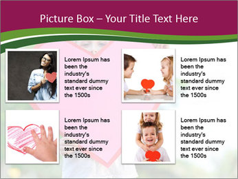 Young child holds PowerPoint Template - Slide 14