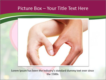 Young child holds PowerPoint Template - Slide 15