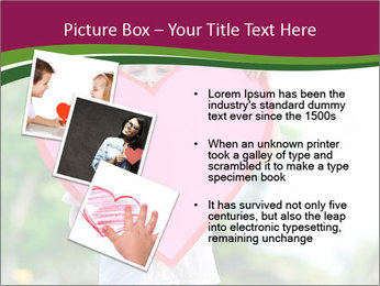 Young child holds PowerPoint Template - Slide 17