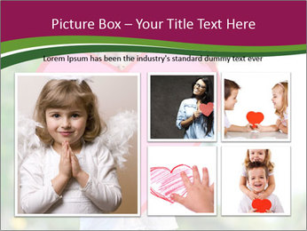 Young child holds PowerPoint Template - Slide 19