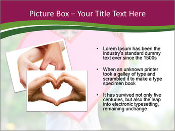 Young child holds PowerPoint Template - Slide 20
