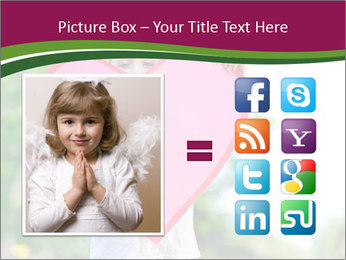 Young child holds PowerPoint Template - Slide 21