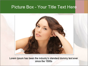 Face of women PowerPoint Template - Slide 15