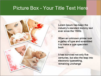 Face of women PowerPoint Template - Slide 23