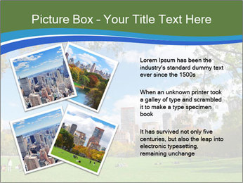 Manhattan skyline PowerPoint Template - Slide 23