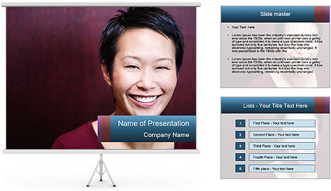 Headshot PowerPoint Template