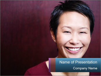 Headshot PowerPoint Template - Slide 1