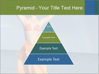 Woman in orange bikini PowerPoint Template - Slide 30