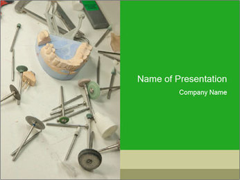 Dental PowerPoint Template - Slide 1