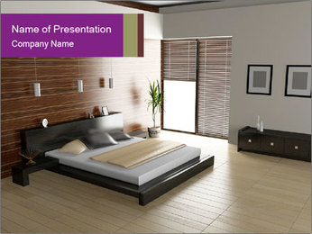 Modern interior PowerPoint Template - Slide 1