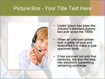 Beautiful young lady PowerPoint Template - Slide 13