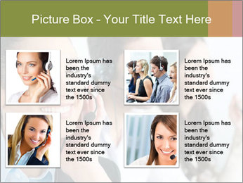 Beautiful young lady PowerPoint Template - Slide 14