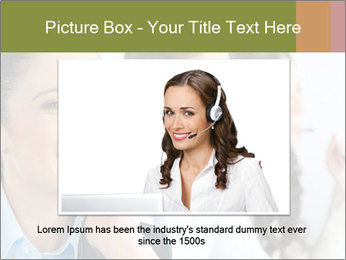 Beautiful young lady PowerPoint Template - Slide 16