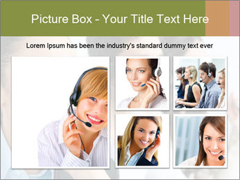 Beautiful young lady PowerPoint Template - Slide 19