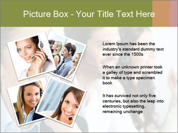 Beautiful young lady PowerPoint Template - Slide 23