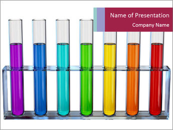 Chemical liquids PowerPoint Template