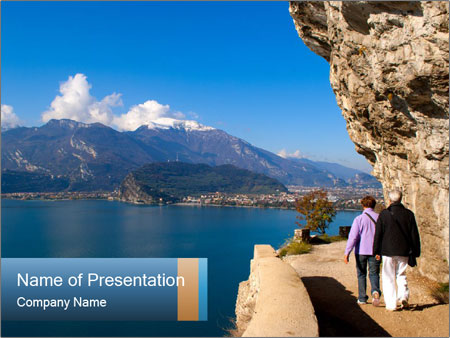 Lake Garda PowerPoint Template
