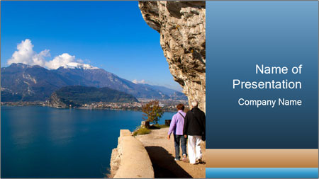Lake Garda PowerPoint Template