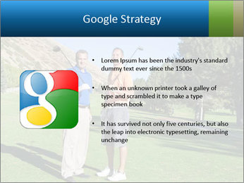 Golfers PowerPoint Templates - Slide 10